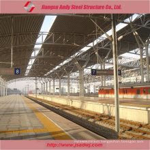 Design Steel Space Frame Metal Roofing for Railway Station 2017