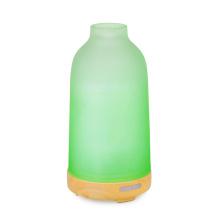 Glasdeckel Holzbasis 100ml Diffusor für ätherische Öle