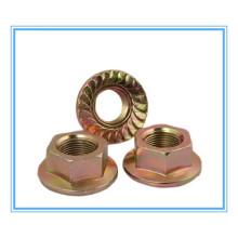 DIN/JIS Browse /Zinc Plainted Hex Flange Nut