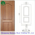 Puerta piel MDF / FRP puerta piel / HDF melamina puerta piel