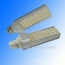 Alta calidad G24 dimmable led pl luz