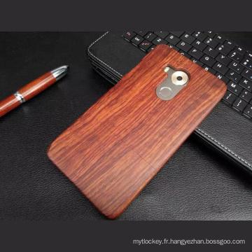 coques de téléphone en bois tpu en bois blanc pour huawi mate8