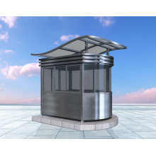 Good Quality Metal Booth Outdoor Traffic Metal Kiosk Booth