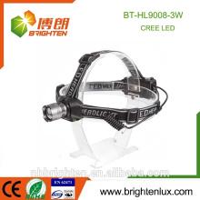 Venta al por mayor de China Venta al por mayor de mult-función zoomable faro 3 modo de aluminio 3 * aaa 160 lúmenes faro minero