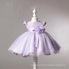 Lila Organza Ball Party kleine Mädchen Kleider