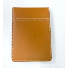 Escrevendo bloco de notas, Notebook de couro para uso de escritório