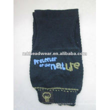 prevailing kid machine knitted scarf