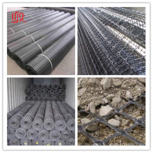 Plastic PP HDPE Pet Fiberglass Biaxial Uniaxial Triaxial Geogrid for Road