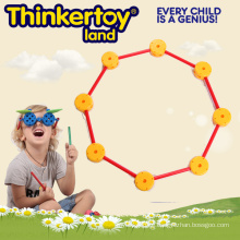 Geometrische 2D Umriss Form Gebäude Spielzeug für Kinder