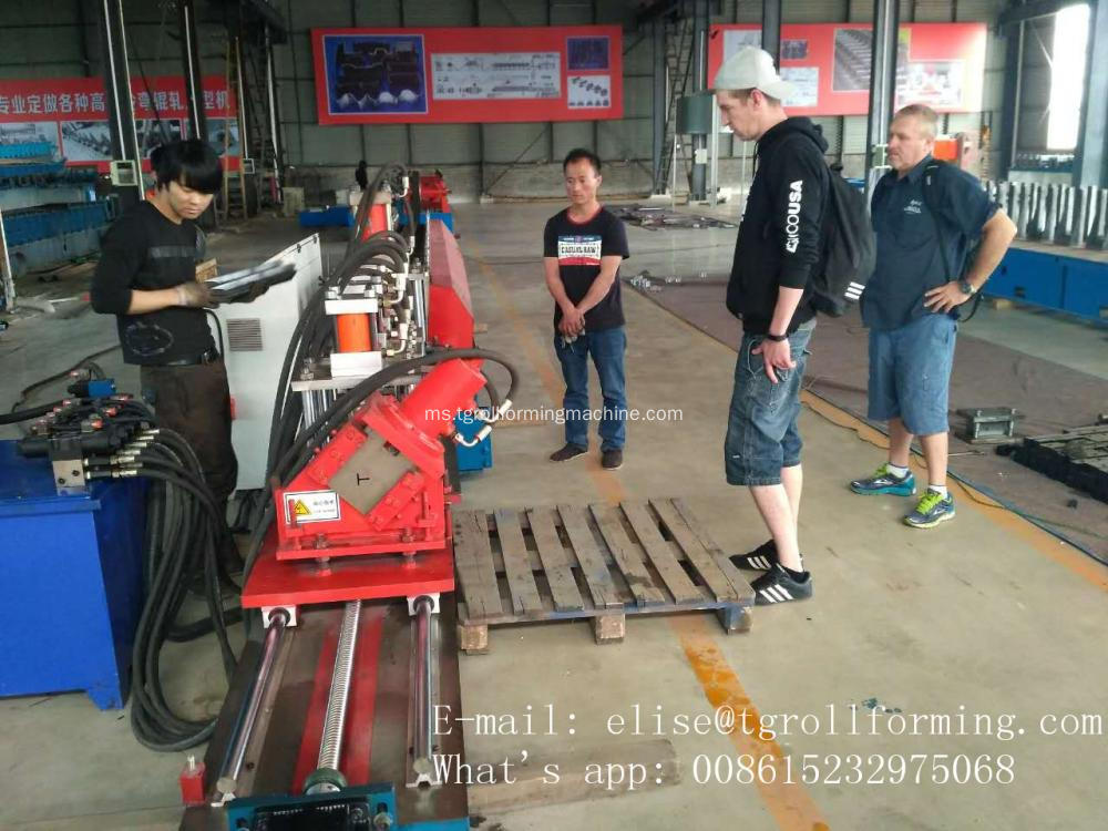 T Profile Roll Forming Machine