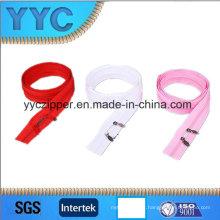 Nylon Material e Home Textile, vestuário, sacos Use Nylon duas vias abrir Zipper