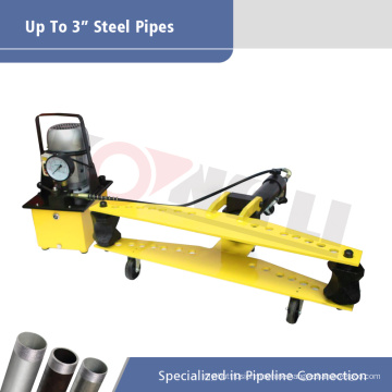 HHW-3D electric hydraulic bender for 3inch pipe