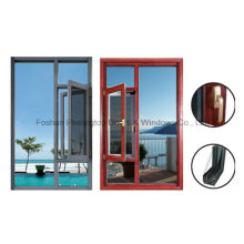 1.4 mm Thermal Break Aluminium Casement Tilt Turn Window (FT-W55)