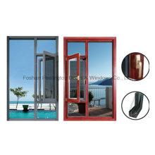 1.4 мм тепловой пробой алюминиевые створки поворотно откидные окна (фут-В55)