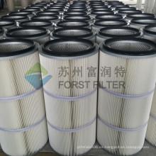 FORST Cartucho de filtro de aire de poliéster, filtro de compresor de aire