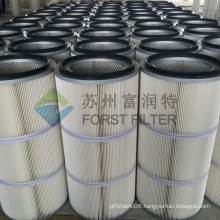 FORST Industrail Dust Remove Pleated Cylinder Air Filter / Paper Coal Dust Filters