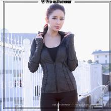 Vêtement de sport personnalisé pour vêtements de sport pour femmes
