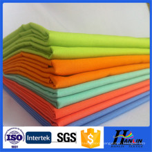 solid dyed polyester/cotton pocketing/shirts fabric