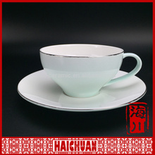 60ml cramic coffee set paper cup design coffee cup tea cup disposal cup with saucer