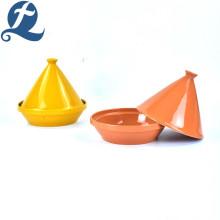 Ollas de sopa con forma de mini torre de diseño único