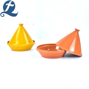 Unique Design Mini Tower Foundation Shape Soup Pots