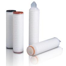 Cartucho de filtro plisado PP con adaptadores