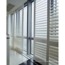 Stores de fenêtre en véritable volets en bois (SGD-S-7011)