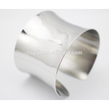 New Cheap Wholesale Stainless Steel Cuff Bangle Bracelet Fashion