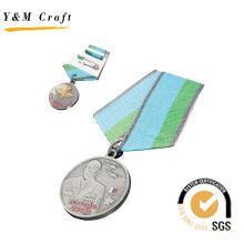 Nouvelle conception personnalisée en métal médaille avec logo (q09597)