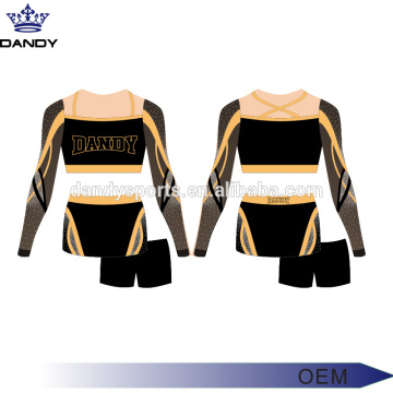 Bel uniforme de cheerleading bleu