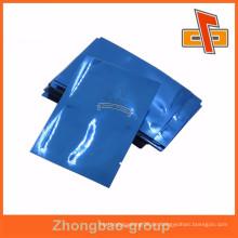 Blaue Aluminiumfolie Mylar Beutel Vakuumverpackung