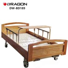 DW-BD189 Cama de enfermería manual de 2 funciones con ruedas médicas