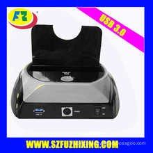 2.5/3.5'' USB 3.0 SATA Plastic HDD docking station with OTB
