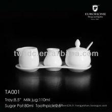 porcelaine poivre shaker 0,2 gm, sel / 0,5 gm