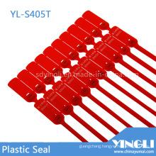 Self Locking Metal Lock Plastic Seal with Serial Number