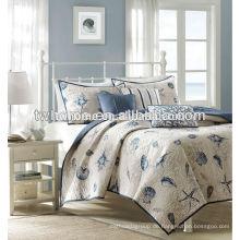 Madison Park Bayside Seashells bedruckte Decke Bettdecke Set