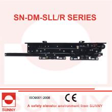 Selcom und Wittur Typ Aufzug Landung Tür Kleiderbügel 2 Panels Seitliche Öffnung (SN-DM-SLL / R)