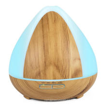 300ml Ultrasonic Oil Diffuser 7 Color Wood Grain​