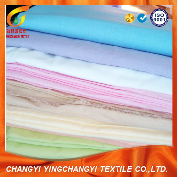 polyester dyed fabric for bed sheet