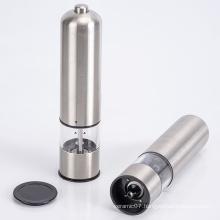 salt and pepper grinder set pepper with light