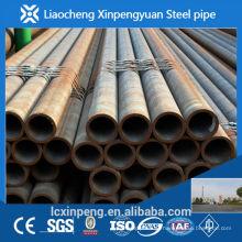 Fabricação e exportador de alta precisão sch40 tubo de aço sem costura e tubulação laminada a quente