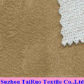 Microfiber Suede with Composite Mesh for Sofa Fabric