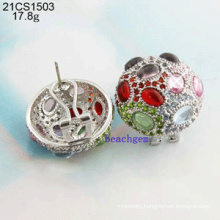 Jewelry-925 Sterling Silver CZ Earrings (21CS1503)