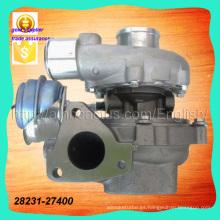 Piezas de automóvil Gtb1749V 28231-27030 Turboalimentador 28231-27400 757886-0003 757886-5003s para Hyundai D4ea