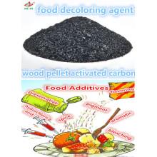 Low price per ton wood pellet as food coloring agent