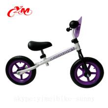 Китай завод горячей продажи 18-месячный баланс велосипед/беговел фиолетовый/детский 12 дюймов велосипеды без педаль