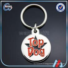 Étiquette de chien nfc personnalisée en émail doux