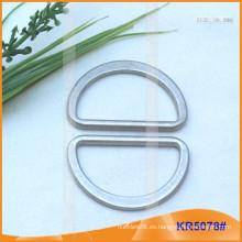 Tamaño interior 38mm Metal Hebillas, Regulador de metal, Metal D-Ring KR5078