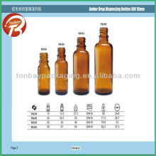 Soda-lime DIN 18 essential oil glass bottle--high quality and low price