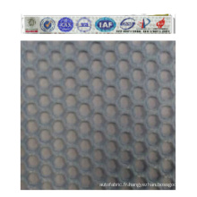 Tissu en maille 100% polyester pour vêtements